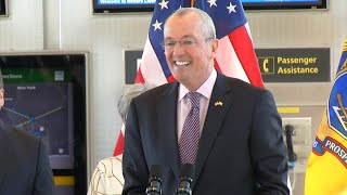 Gov. Murphy pushes to replace Newark Airport monorail