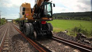 The UNAC 22TRR - High Capacity Road-Rail Excavator