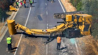 Extremely Dangerous Excavator Fails \u0026 Heavy Equipment Gone Wrong Compilation!