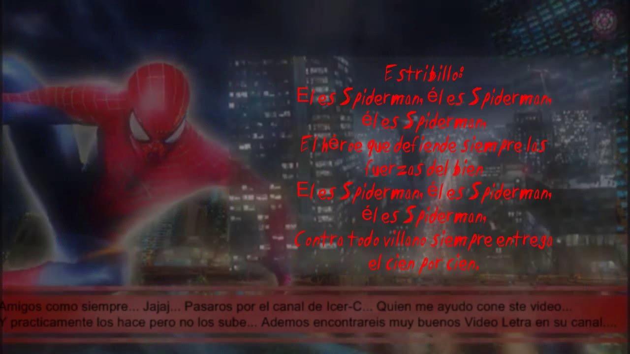 Letra Rap De Spiderman 2016 Marvel Doblecero Youtube