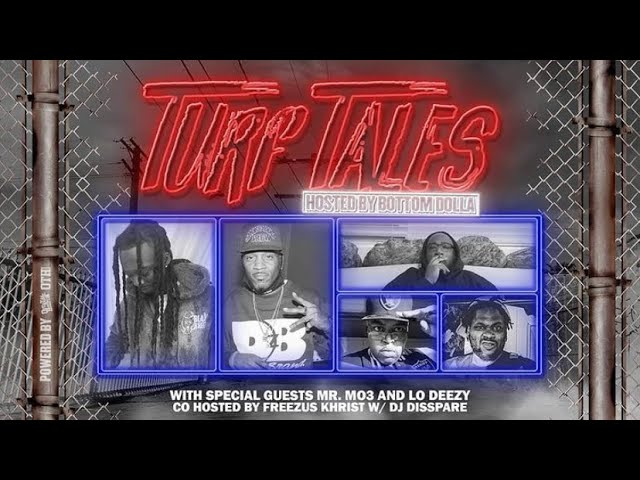 "Overtime Hustlin Presents ""Turf Tales Podcast"" Episode 41 (Mr. Mo3 / Lo Deezy)"