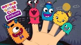 Halloween Songs | Finger Family | Monster Finger Family | Mother Goose Club Playhouse Kids Song