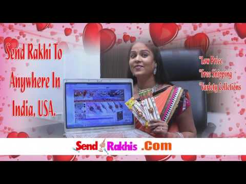 Send Rakhis Online to India USA Abroad Free Shipping Low Prices Variety Collections