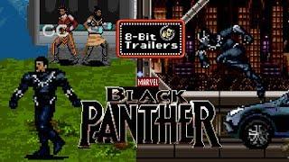 BLACK PANTHER - 8-Bit Trailers (2018) Chadwick Boseman Marvel Superhero Movie