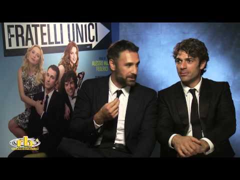 Raoul Bova e Luca Argentero, intervista per Fratelli Unici, RB Casting
