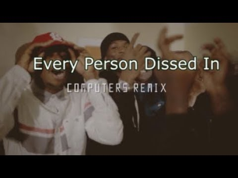 Every Person Dissed In Wooski - Computers Remix