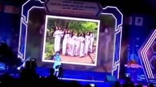 Duyên Dáng Áo Hoa - Thiện Nhân biểu diễn tại lễ trao bảo trợ tài năng trẻ TP HCM 2016
