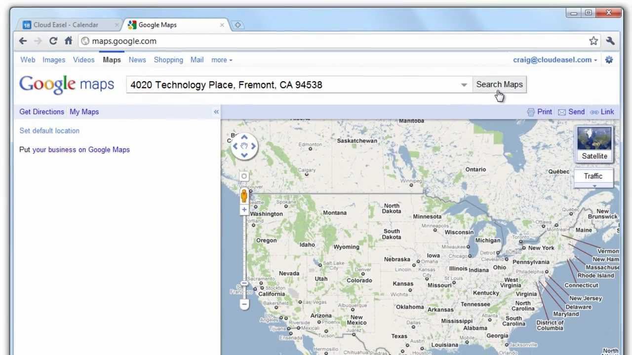 Add Google Maps In Calendar Events YouTube - Google maps oregon