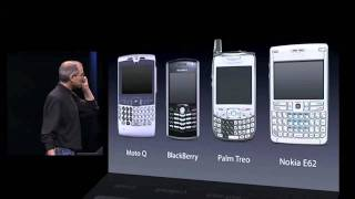 Presentazione STORICA di Steve Jobs del primo Apple iPhone al Keynote del 2007 (HD) Part 1