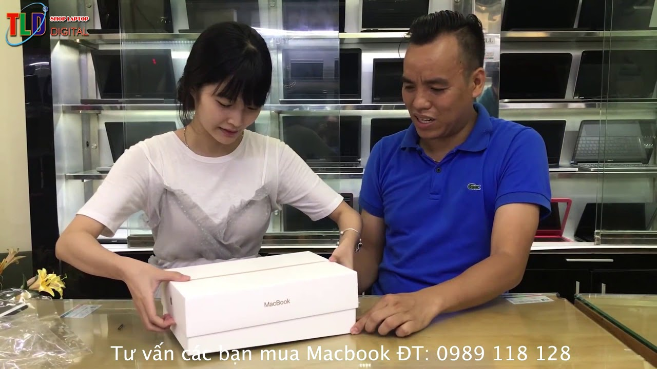 Gửi Anh Mạnh Nghệ An 2 Chiếc New Mac 12 Màu Gold 2017 Tuyệt Đẹp