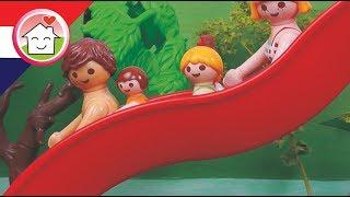 Playmobil filmpje Nederlands De glijbaan in Mega-Aguapark - Familie Huizer