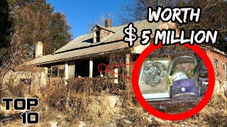Top 10 Valuable Items Found In Abandoned Homes