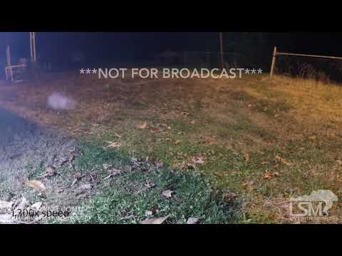 12-9-18 Greensboro, NC - Snow Time-lapse
