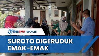 Harga Pakan Jagung Tak Kunjung Turun Seperti Janji Jokowi, Rumah Suroto Digeruduk oleh Emak emak