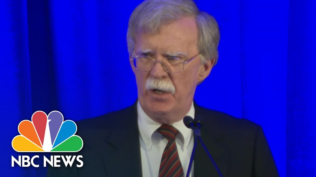 Trump slams former top national security aide John Bolton, calling him 'way out of line'