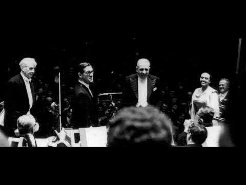 Poulenc Gloria - Munch - BSO - 1961 (first performance)