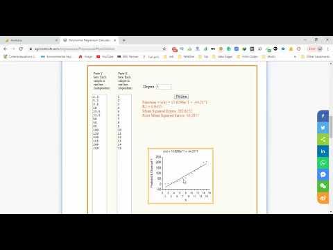 Polynomial Regression Calculator