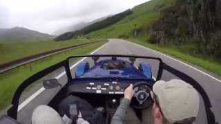 500 miles in a caterham 7 across scotland