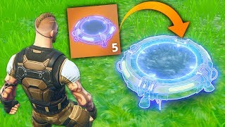 NEW INVISIBLE JUMP PAD..?! | Fortnite Funny and Best Moments Ep.100 (Fortnite Battle Royale)