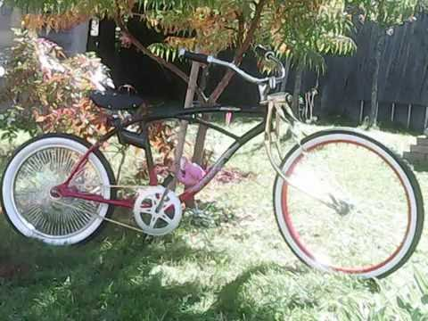 Build Custom Lowrider Bike From Old Huffy Minimum Parts Cost