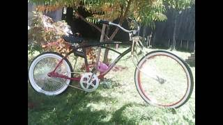 Build Custom Lowrider Bike from old Huffy minimum parts cost (cheap)