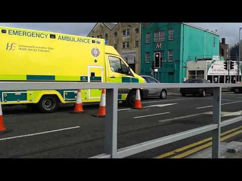 HSE MERC SPRINTER RESPONDING IN Cork Ireland