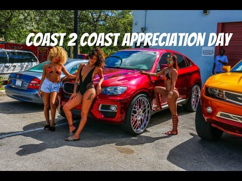 C2C customer appreciation day (big rims, candy paint, models, lifted truck, and big motors)