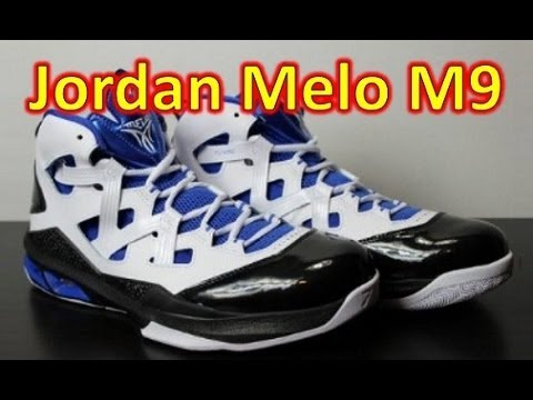 release date a66bb bb00c Air Jordan Melo M9 - Review + On Feet