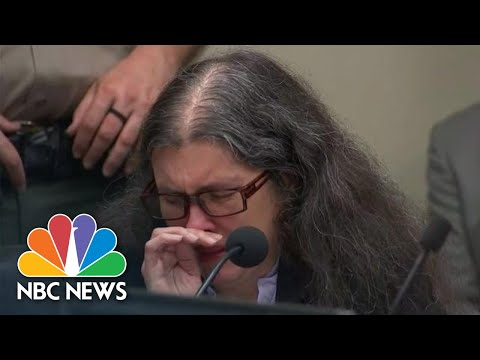 Crying Turpin Parents Apologize To Children Before Receiving Life In Prison | NBC News