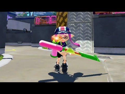 Splat Charger Montage Splatoon スプラトゥーン For Wii U Youtube