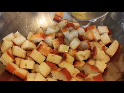 How to Make Croutons Garlic Parmesan Croutons Recipe