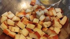 How to Make Croutons - Garlic Parmesan Croutons Recipe
