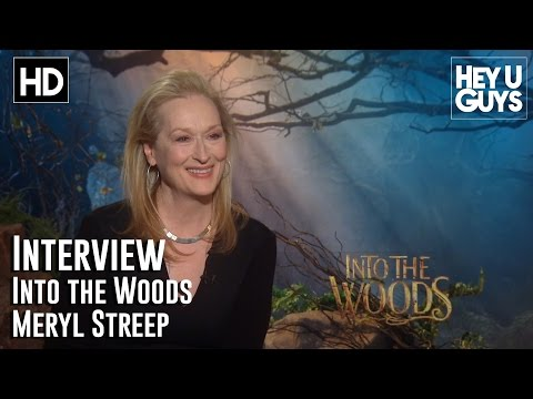Meryl Streep Interview - Into the Woods