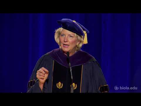 Shirley Hoogstra: The Summoned Life - Fall 2017 Commencement Address