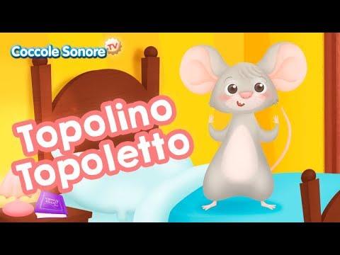 Topolino Topoletto - Italian Songs for children by Coccole Sonore