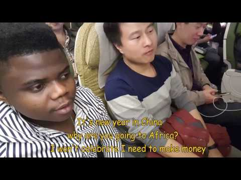MY TRIP FROM CHINA TO GHANA