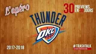 Preview 2017-18 : le Oklahoma City Thunder