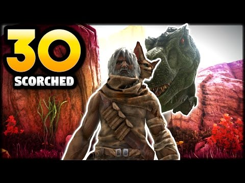 Ark Survival Evolved PS4 Ep 30 -T REX MASSACRE -Scorched Earth Gameplay Let's play