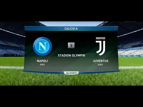 FIFA 18 Gameplay | Juventus vs Napoli - Stadion Olympik (Full Gameplay)