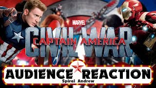 Captain America: Civil War - AUDIENCE REACTION (REAUPLOAD)