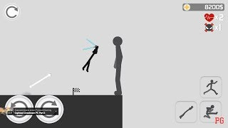 Stickman Backflip Killer 3 Part 17 Darth Vader 100 COMPLETE By BeatenPixel  Android Gameplay HD
