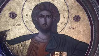 ART PRESERVATION-RESTORATION OF ST. SPYRIDON CHURCH NY BY THE ICONOGRAPHER MILTIADIS AFENTOULIS