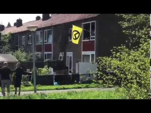 Confrontatie met actievoerders: ramen ingegooid in de Watergraafsmeer