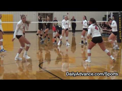 The Daily Advance | 2018 High School Volleyball | Currituck at Perquimans