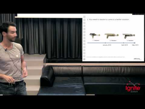 3D printing is digitizing manufacturing | Matthias Baldinger | Ignite Zürich 2015.09.04