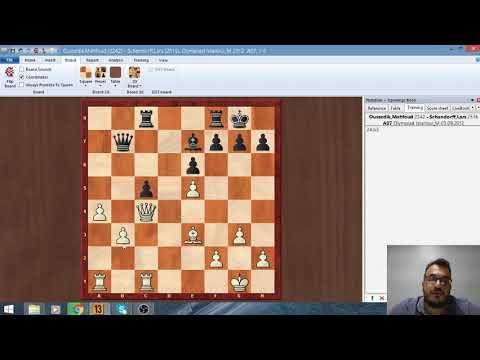 شطرنج اجمل الجولات العربية - دفاع السلاف - Chess Best arab g