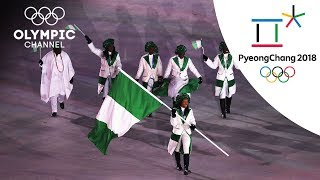 Nigeria's 1st time at the Olympics | Day 1 | Winter Olympics 2018 | PyeongChang