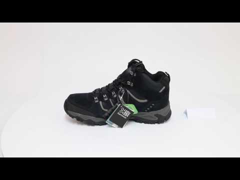 111bf95150b Karrimor Средни Мъжки Туристически Обувки Mount Mid Mens Walking Boots -  YouTube