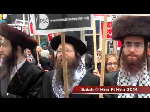 Free Free Palestine , Protest Outside The Israeli Embassy In London 05 07 2014