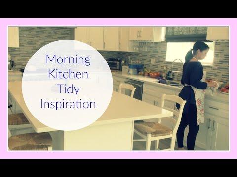 Morning Kitchen Tidy